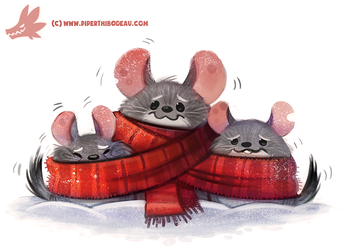 Daily Paint #1159. Chinchilly by Cryptid-Creations