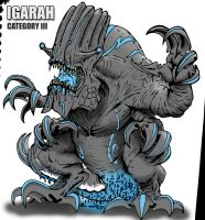 Pacific Rim Kaiju (Igarah Color) by kaijugroupie84