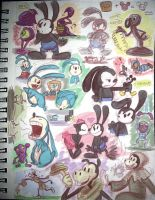 Epic Mickey: Sketches by g0N3Morganna