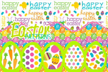 Easter Patterns by Yahi-m
