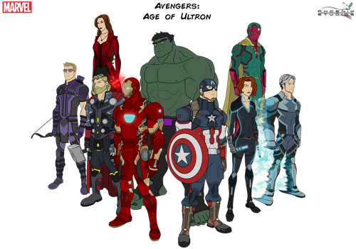 Age of Ultron by Kyle-A-McDonald