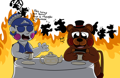 A nice tea party by Rustywolf14