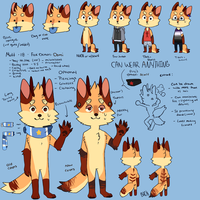 Mutt ref 2k16 by Fox-mutts