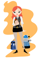 Amy Pond by Indy-Lytle