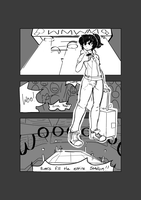 Comic page practice by SBDraws