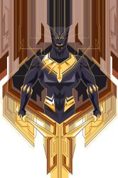 Black Panther Vector Set 2 by timberking