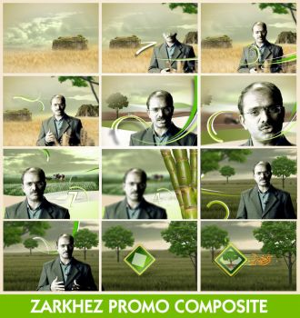 Zarkhez Promo Package by junaidcreative