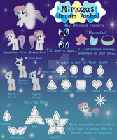 [MLP Species] Mimozas [OPEN SPECIES] by water-kirby
