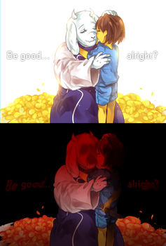 Undertale - Your choice . . . by marryhunt