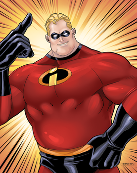 Mr. Incredible by RIVOLUTION
