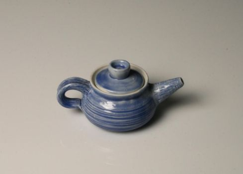 Little Blue Teapot by SuperClown