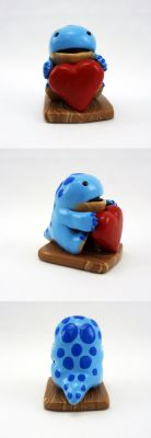 Quaggan figurine by Koreena