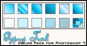 Gypsy Teal Color Pack by redbonniekidd
