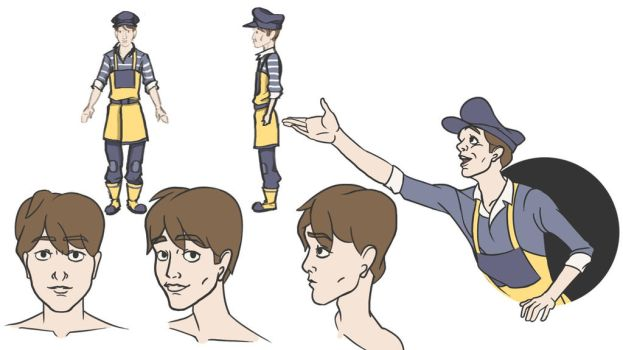 Character Sheet - The Young Lightkeeper by Drill8Bit