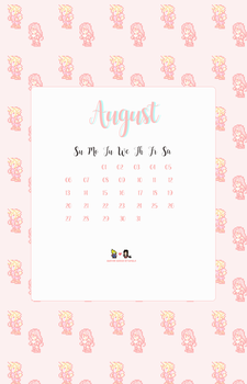 Phone Wallpaper [August 2017] by tinystrawberry