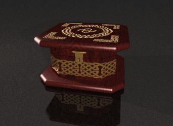 Celtic Jewelry Box by DreamingSky
