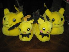 Pikachus and Pichus by Marquis2007