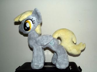 mini Derpy plush by CatyCrippledCat