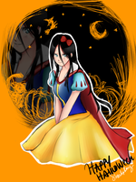 Aohc: Happy Halloween by S-hui