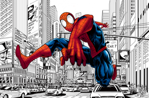 Spider-Man - Comic Book Style by KevinFrank123