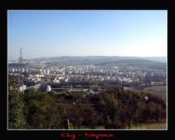 The heart of Transilvania by Cluj