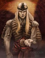 Illustration: Prince Nuada by annecain