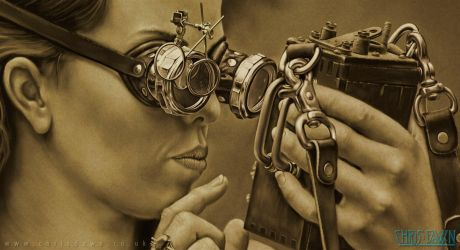 Steampunk iThing by Dysis23A