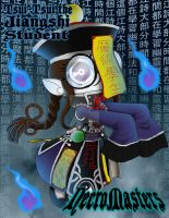 NecroMasters - CA - Tsui-Tsui the Jiangshi Student by PlayboyVampire