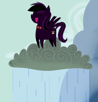 .:Commission Pointy Pony:. Make It Rain by MorrodertheFreakyGuy