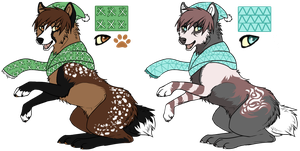 Winter canine adopts by LuckyPaw