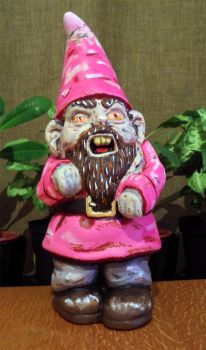 Repainted Zombie Gnome by Prickblad