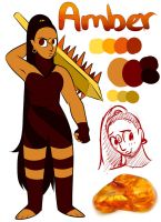 My Gemsona Amber. by Riquis101