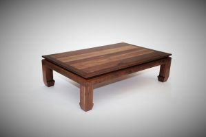 Ming Walnut Coffee Table by belakwood