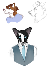 Chat design doodle requests by orinscrivello