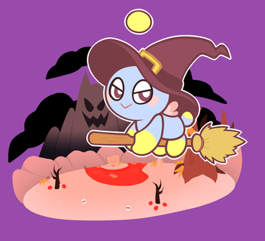 Witch Chao by Pupom