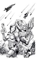 Mass Effect Inks by TonyKordos