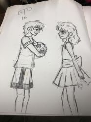 DD: quick sketch Tetsu and Kyle 10 years ago  by Imbriaart