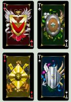 Playing cards 'Animagique'. Aces by Inshader