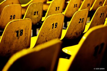 Yellow Seats. by eizus