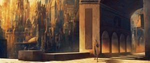 Wandering the city by Friis