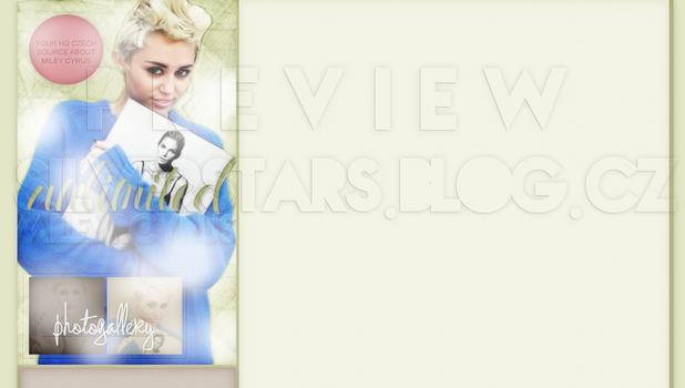 Ordered design ft.Miley Cyrus by silverstars-graphic