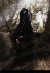 Lycanthropic fantasy by Cliotna