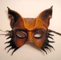 Leather Mask Wolf, Dog or Fox by teonova