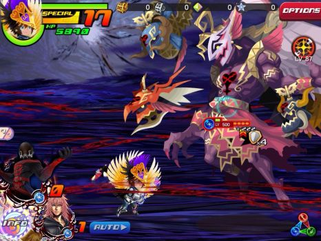 The Taios vs. Kefka's Heartless: Mysterious Sir by datazeroone2