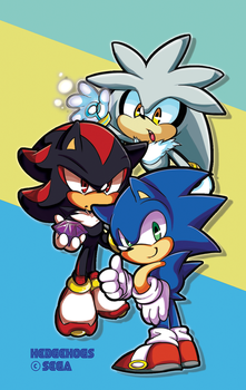 STH - 3 Hedgehogs by cooga01
