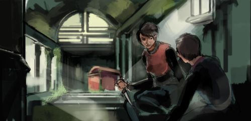 28 days later practice WIP by stupah