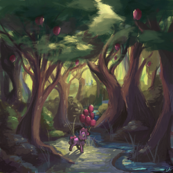 Pinkietober 27 - Party in the Woods by DocWario