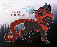 The Spirit in the Woods SoulFox - Auction (Closed) by watercoIor
