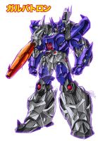 IDW Galvatron redesign 2007 by GuidoGuidi
