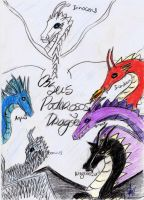 Six dragons by Leo-McCarthy